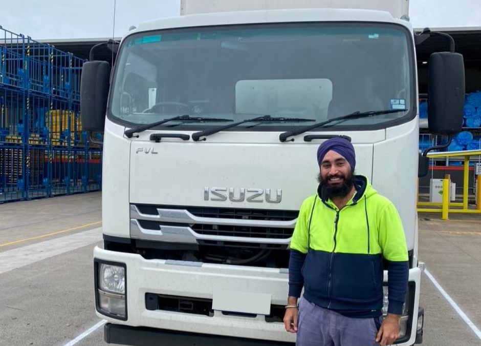 Kubic Transport Melbourne Road Freight Transport Services Driver of the Month